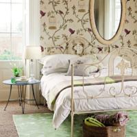 slaapkamer brocante kleuren