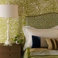 Een groene slaapkamer inrichten